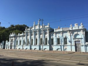 Дом Грибушина в Перми обший вид