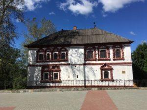 Современный облик дома воеводы в Соликамске