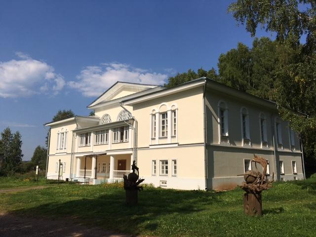 Дом управляющего в Ильинском