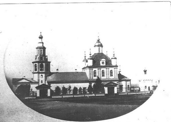 Петропавловский собор в Перми в XIX веке.