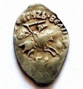 Деньга Ивана III Пермское княжество