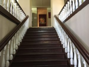 Лестница в Ильинском краеведческом музее