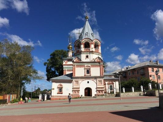 Богоявленская церковь в Соликамске
