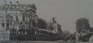 Дом Попова в начале XX века.