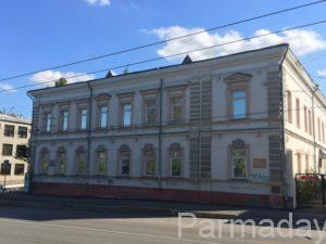 Дом Попова Пермь на зеленой линии