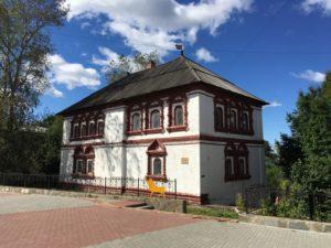 Вид дома воеводы в Соликамске.