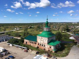 Крестовоздвиженский собор в Соликамске