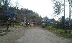Вид на этнографический парк реки Чусовой