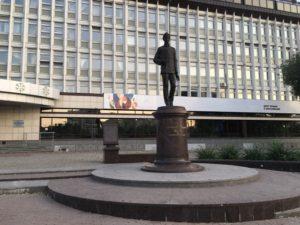 Памятник  Попову в Перми