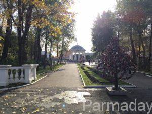 Парк Горького в городе Пермь