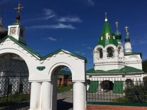 Колокольня церкви Преображения в Соликамске