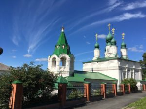 Преображенская церковь в Соликамске