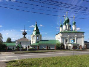 Преображенский монастырь и Введенская церковь