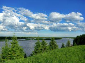 река Колва в Чердынском районе