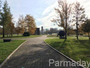 Сад камней в городе Пермь