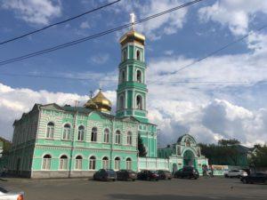 Главный храм Пермского храма - Свято-Троицкий собор