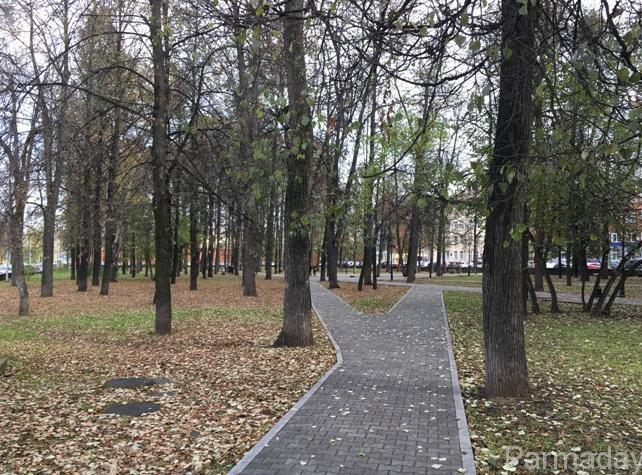 Сквер декабристов в Перми