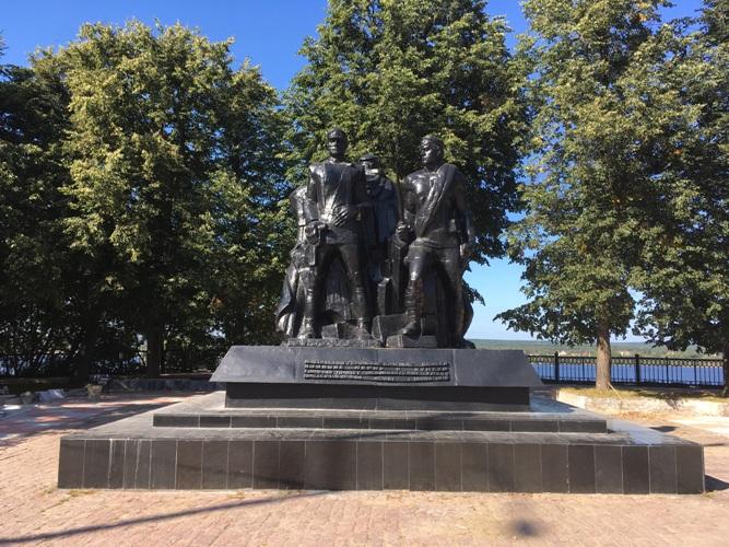 Памятник в сквере Решетникова в Перми