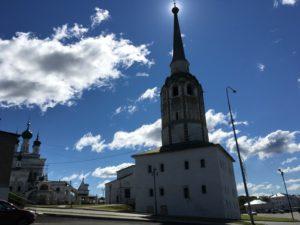 Колокольня имеет статус памятника федерального значения