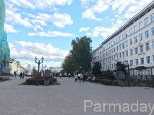 Соборная площадь в Перми