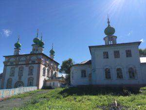 Спасская и Михайловская церковь Соликамска