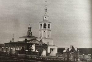 Старинная церковь в селе Искор