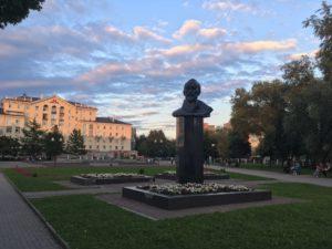 Сквер Дзержинского в городе Пермь