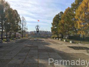памятник борцам революции на горе вышка
