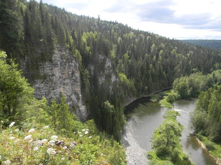 Река Вижай в Горнозаодском районе