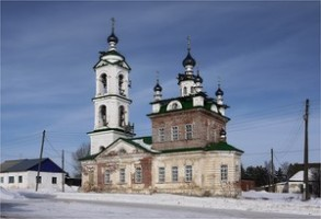 Никольская церковь в Неволино