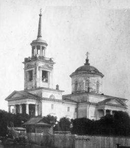 Очер. Михайло-Архангельская церковь.