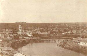 Старое фото Кунгура начала XX века.