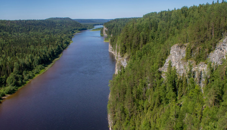 Камень писаный и река Вишера. Достопримечательности Красновишерска