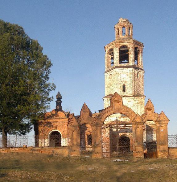 Рождественская церковь в Искоре Пермский край