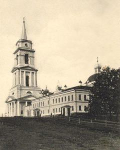 Спасо-Преображенский кафедральный собор в начале XX века.