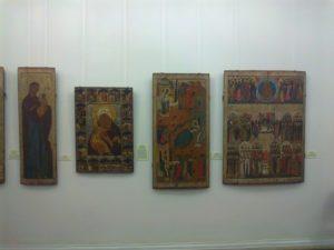 Строгановская икона в Пермской художественной галерее