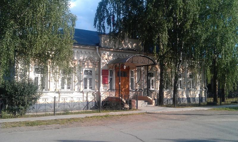 Здание начала XX века в Березовке, Пермский край