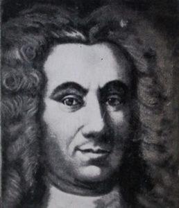 Портет Василия Татищева, XVIII век.