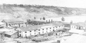 Фото завода в Мотовилихе в 1863 году