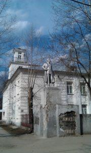 Памятник Максиму Горькому в Перми