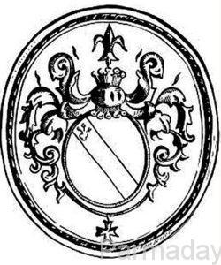 печать де Геннина, основателя Перми