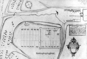 План Егошихинского завода де Геннина начало 30-х годов