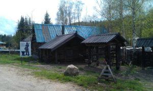 Сельская кузница в этнографическом парке