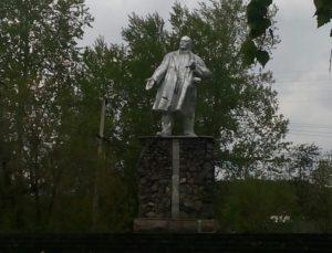 Памятник Ленину в Чусовом