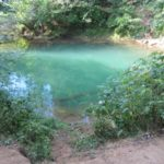 Голубое озеро на Чусовой