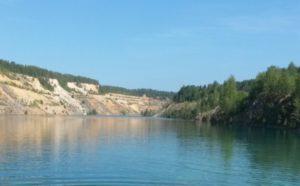 Голубое озеро это бывший карьер