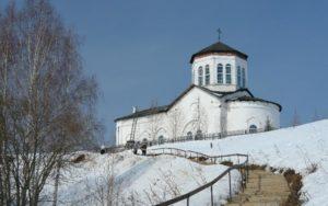 Свято-Трифоновский мужской монастырь на реке Чусовая