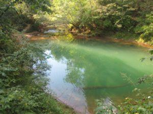 Голубое озеро в Чусовском районе