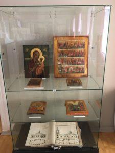 Иконописная мастерская в Ильинском