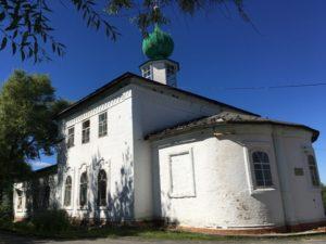 Архангельская церковь в городе Соликамск